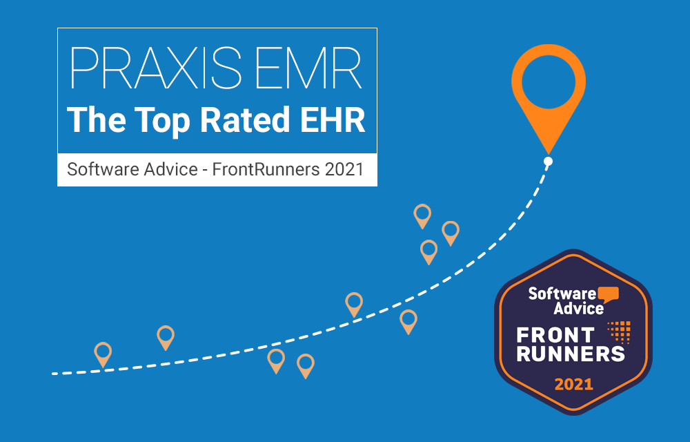 Software Advice Ranks Praxis EMR #1 is Usability and Customer Recommended